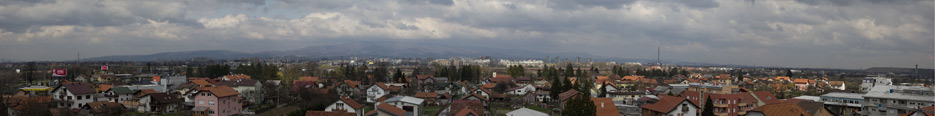 panorama of zagreba